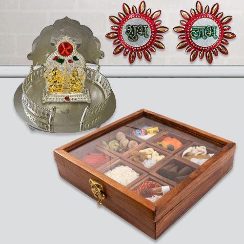Exquisite Pooja Gift Combo