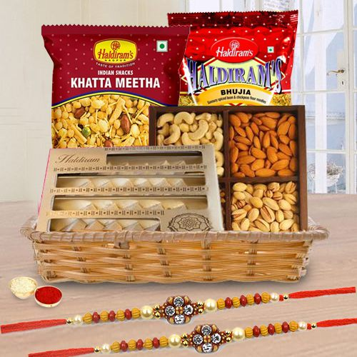 Sweets N Savory Rakhi Gift Hamper
