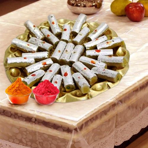 Sweets filled with Dry Fruits from Haldiram