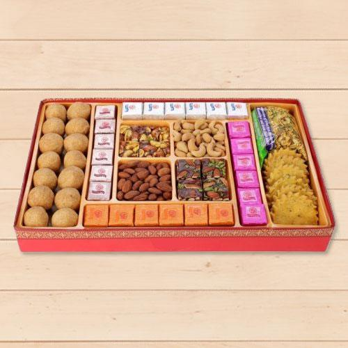 Haldirams Refining Closeness Milk Cake Sweets Box