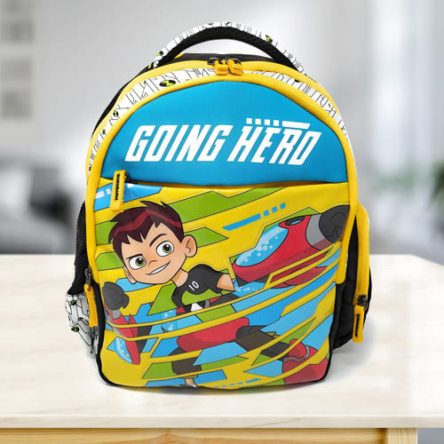 Remarkable Ben 10 School Backpack for Kids