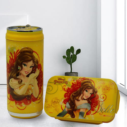 Amusing Disney n Marvel Lunch Box N Sipper Bottle Combo