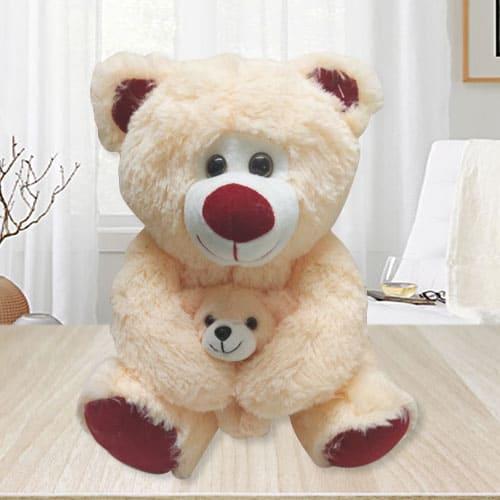 Wonderful Teddy Bear with Baby