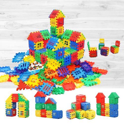 Attractive House Building Blocks Set