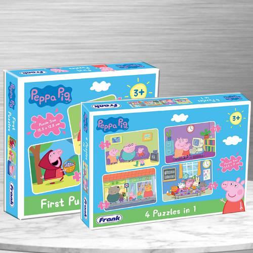 Amazing Dual Puzzle Set for Kids