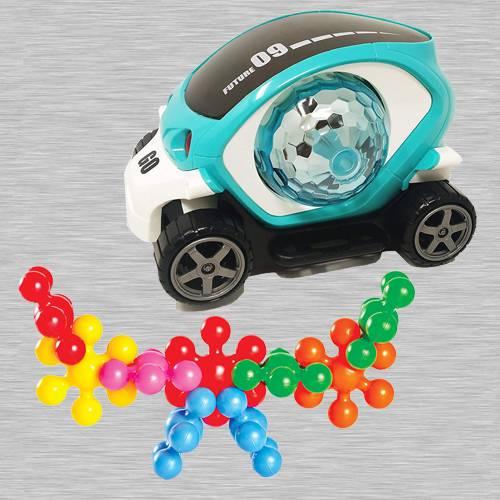 Marvelous 360 Degree Rotating Stunt Car N Funskool Kiddy Star Links