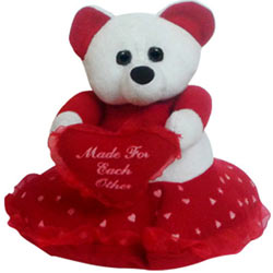 Delightful Teddy Bear with Heart