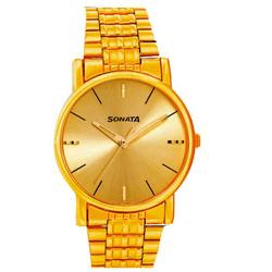 Glorious Round Shaped Sonata Wrist Watch for Men